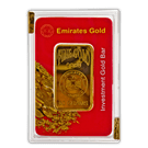 Emirates New 50 Gram Gold Bar (PO) 999.9