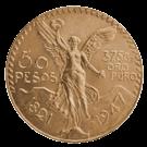 Mexican Gold 50-Pesos Coin 900.0