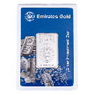 5g Silver Bar Boxed Emirates Gold  Rose