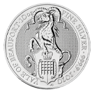 10oz 2020 Yale of Beaufort Silver Coin | The Queen's Beasts Collection
