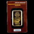 Argor Heraeus 1 Ounce Certicard Gold Bar