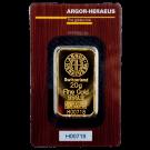 20 Gram Gold Bar Argor Heraeus Certicard