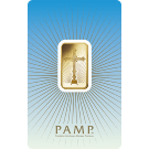 10 Gram Gold Bar PAMP 'Faith' Romanesque Cross