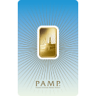 PAMP 'Faith' Ka 'Bah Mecca 10 Gram Gold Bar