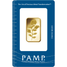 20g Rosa Gold Bar | Certicard | PAMP Suisse | Investment Market