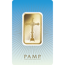 PAMP 'Faith' Romanesque Cross 1 Ounce Gold Bar
