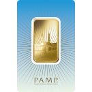 1oz Gold Bar PAMP 'Faith' Ka ' Bah Mecca