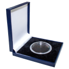 Quality Single Coin Presentation Box in Blue