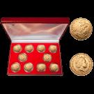 2012 Gold Full Sovereigns (Elizabeth II Diamond Jubilee Set of 10)