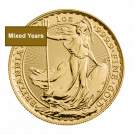 Mixed Years 1oz Gold Britannia Coin | The Royal Mint