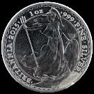 2015 1oz Silver Britannia (PO)