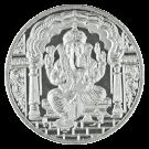 JT 10 Gram Ganesh Silver Round 999.0