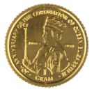 1993 Gold 40th Anniversary of Coronation (Gibraltar )