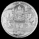 KB 10 Gram Tri-God Silver Round 999.0