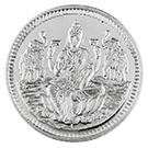 5g Silver Round KB Goddess Lakshmi
