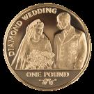 2007 Gold Sovereign 1 Pound Coin (Gibraltar) (PO)