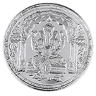 KB 10 Gram Lord Ganesh Scenic Silver Round 999.0