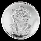 10 Gram Silver Round KB Lord Ganesh