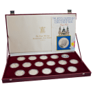 1981 Silver Commemorative Coin Collection (The Royal Marriage)