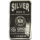 1oz Silver Bar Emirates Gold