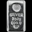 Emirates 250 Gram Cast Silver Bar 999.0
