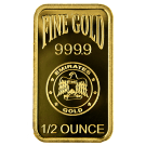 1/2oz Gold Bar Emirates Gold (PO)
