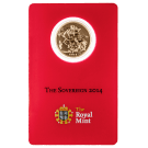 2014 Gold Full Sovereign Certicard