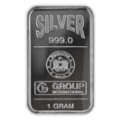1g Blister Pack Silver Bar  Emirates (GI)