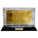 Gold Effect 500 Euro Note