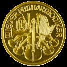 Austrian 1/2 Ounce Gold Philharmonic Coin 999.9
