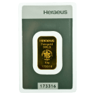 10 Gram Gold Bar Heraeus PO