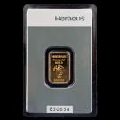 5 Gram Gold Kinebar Heraeus