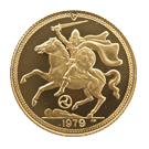 Isle of Man Proof Half Gold Sovereign (PO)