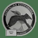 Australian 1oz Silver Kookaburra Coin (Random Years)