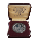 1979 Silver Proof 15 Maloti (Year of The Child, Lesotho)
