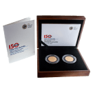 British London Underground 2013 £2 Gold Proof Coin Set 916.7