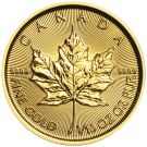 Canadian 1/10 Ounce 2015 Gold Maple Leaf Coin