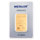 1oz Gold Bar Metalor (PO)