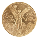 Gold 50-Pesos Mixed Years (Mexico)