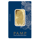 2t Gold Bar PAMP Fortuna Veriscan