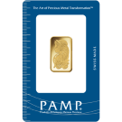 10 Gram Gold Bar PAMP  Fortuna Certicard