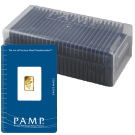 25 x 1 Gram Gold Bars PAMP Rosa Certicard in Box | Special Offer