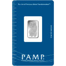 2.5g Fortuna Silver Bar | PAMP Suisse