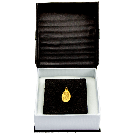 2.5 Gram Gold Oval Investment Bar Gift PAMP Fortuna