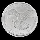 Canadian 1 Ounce Silver Peregrine Falcon Coin  2014 999.9