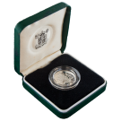 1983 Silver Proof £1 (Piedfort) Boxed