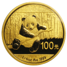 Chinese 1/4 Ounce Gold 2014 Panda Coin 999.9
