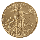 American 1/4 Ounce Gold Eagle Coin