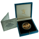 1990 Gold Proof £5 (Queen Mother 90th Birthday)