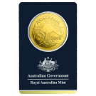 Royal Australian Mint 1 Ounce 2016 Gold Kangaroo in Certicard 999.9
